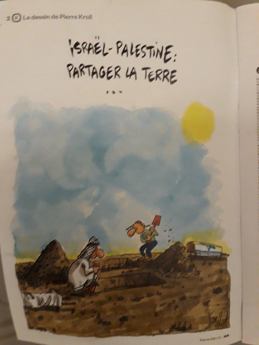 #Israel #Palestine : partager la terreParu dans #ebdo http:// www.kroll.be  - FestivalFocus