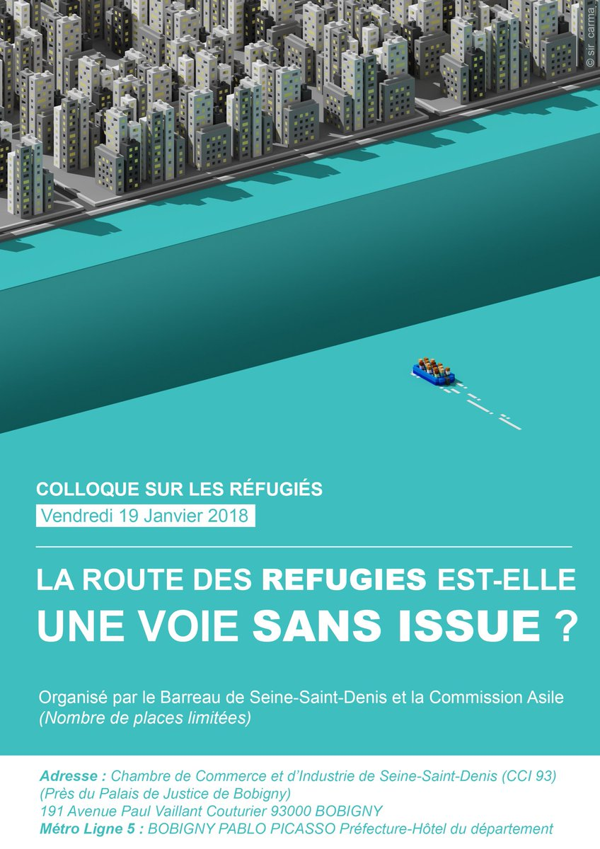 ... Judges And Lawyers, At A Symposium Organized By The Seine Saint Denise  Bar Association In Paris, France On The Question Of Refugees Crisis.