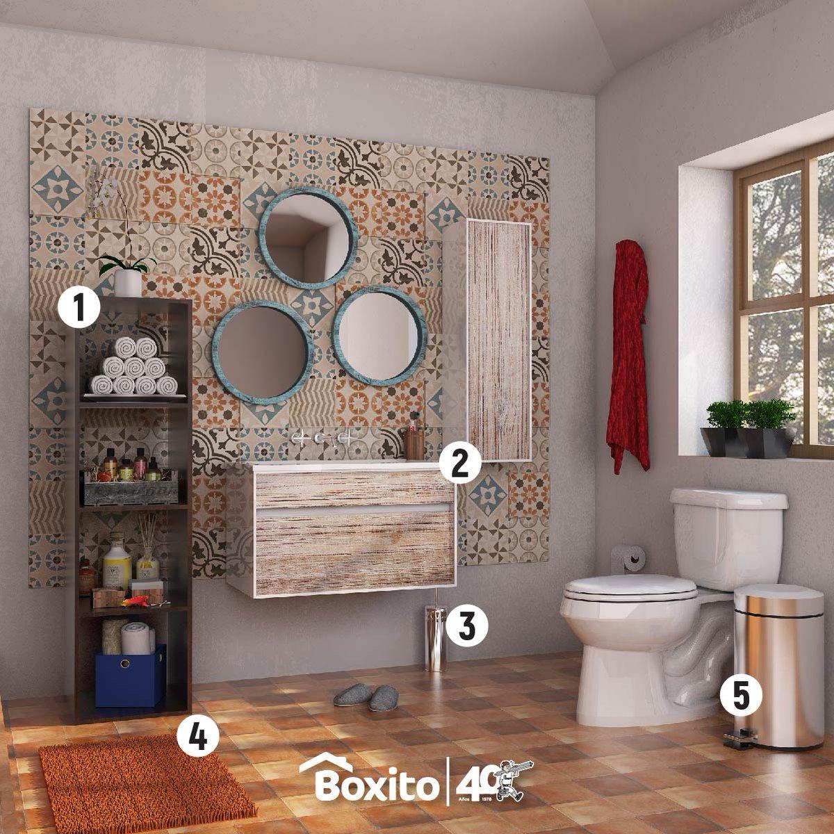 Grupo Boxito On Twitter Aqu Te Damos Una Idea De Como Puede  # Boxito Muebles De Bano