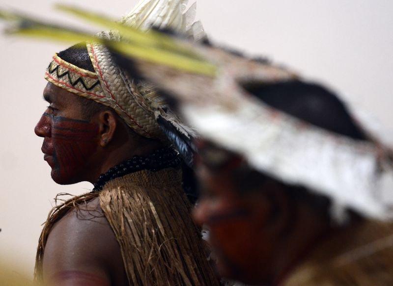 Papa denuncia opressão de indígenas da Amazônia por interesses econômicos https://t.co/e6WPgDRQvz 📷 Marcello Casal Jr/Agência Brasil