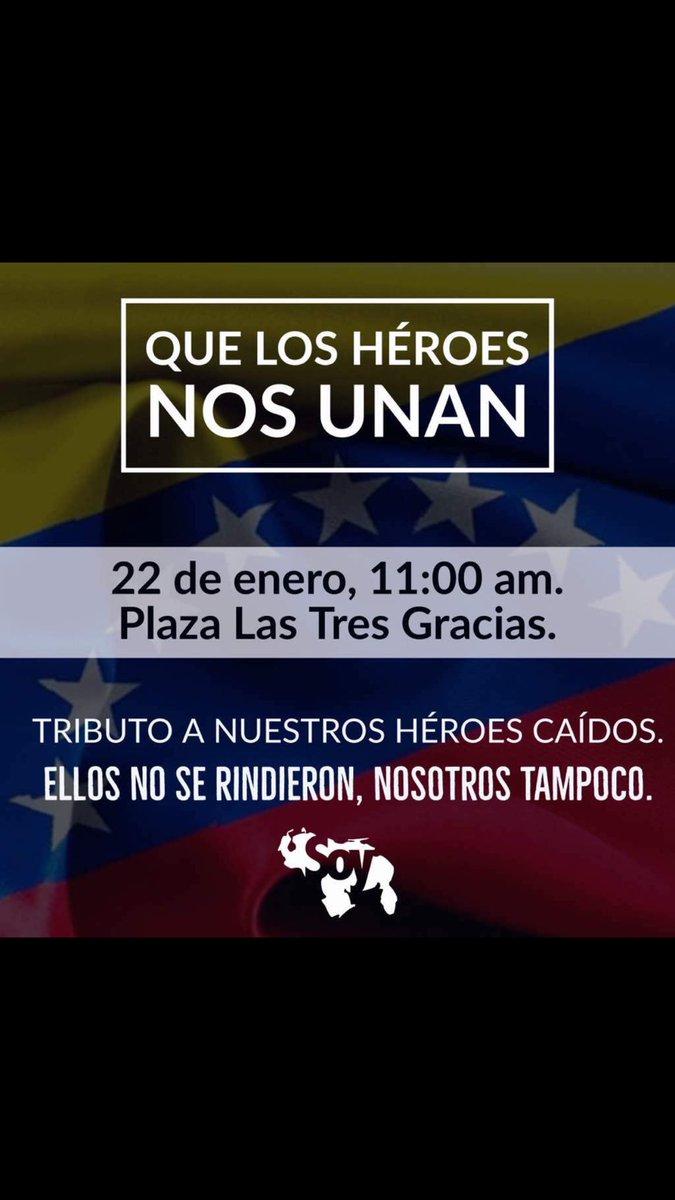 #QueLosHéroesNosUnan los de ayer y los d...