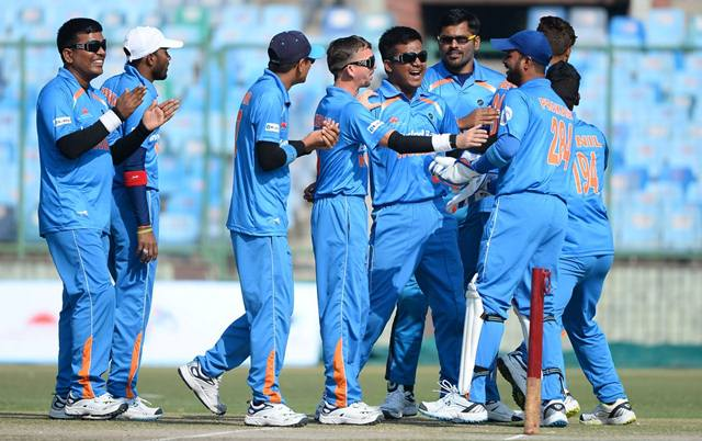 #BlindCricketWorldCup Final: #TeamIndia to face arch rival #Pakistan today in Sharjah, UAE.