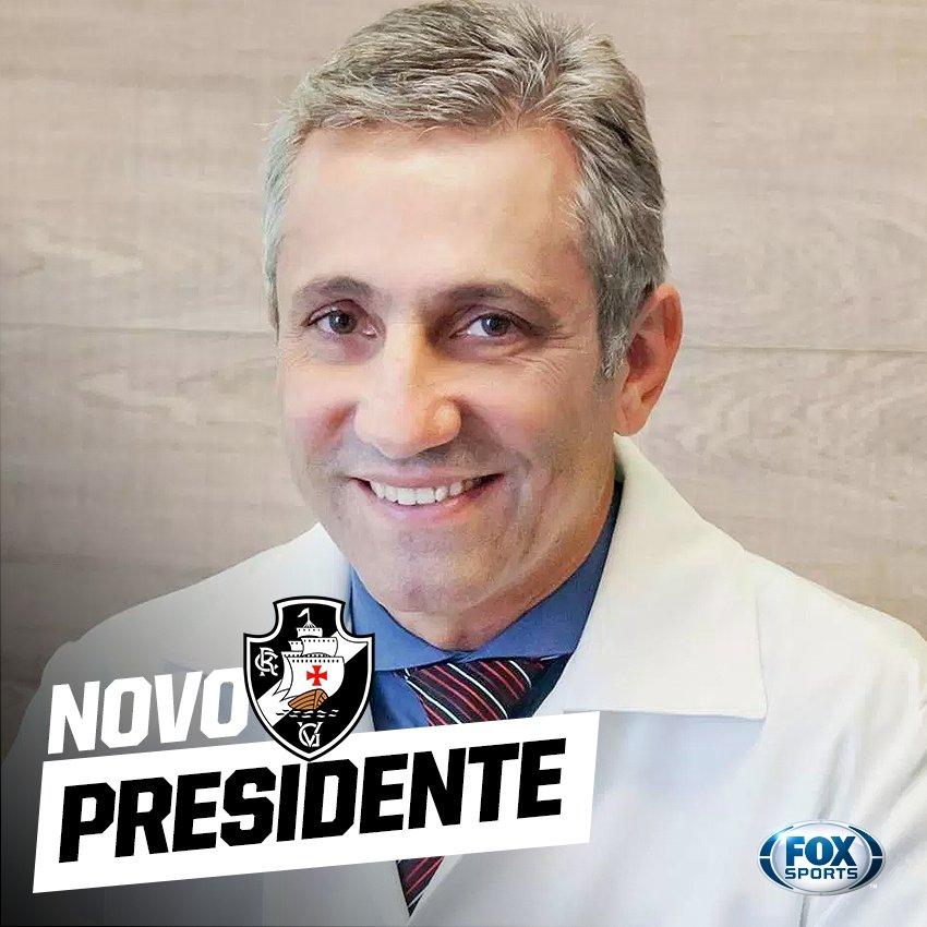 ✠ Aliado de Eurico Miranda, Alexandre Campello é o novo presidente do @VascodaGama!