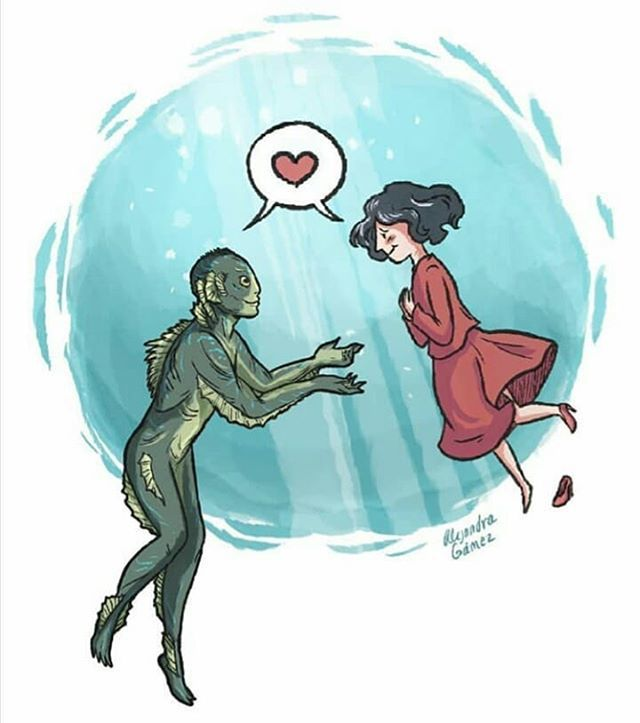 Adorable illustration by @themountainwithteeth  #theShapeOfWater  - FestivalFocus