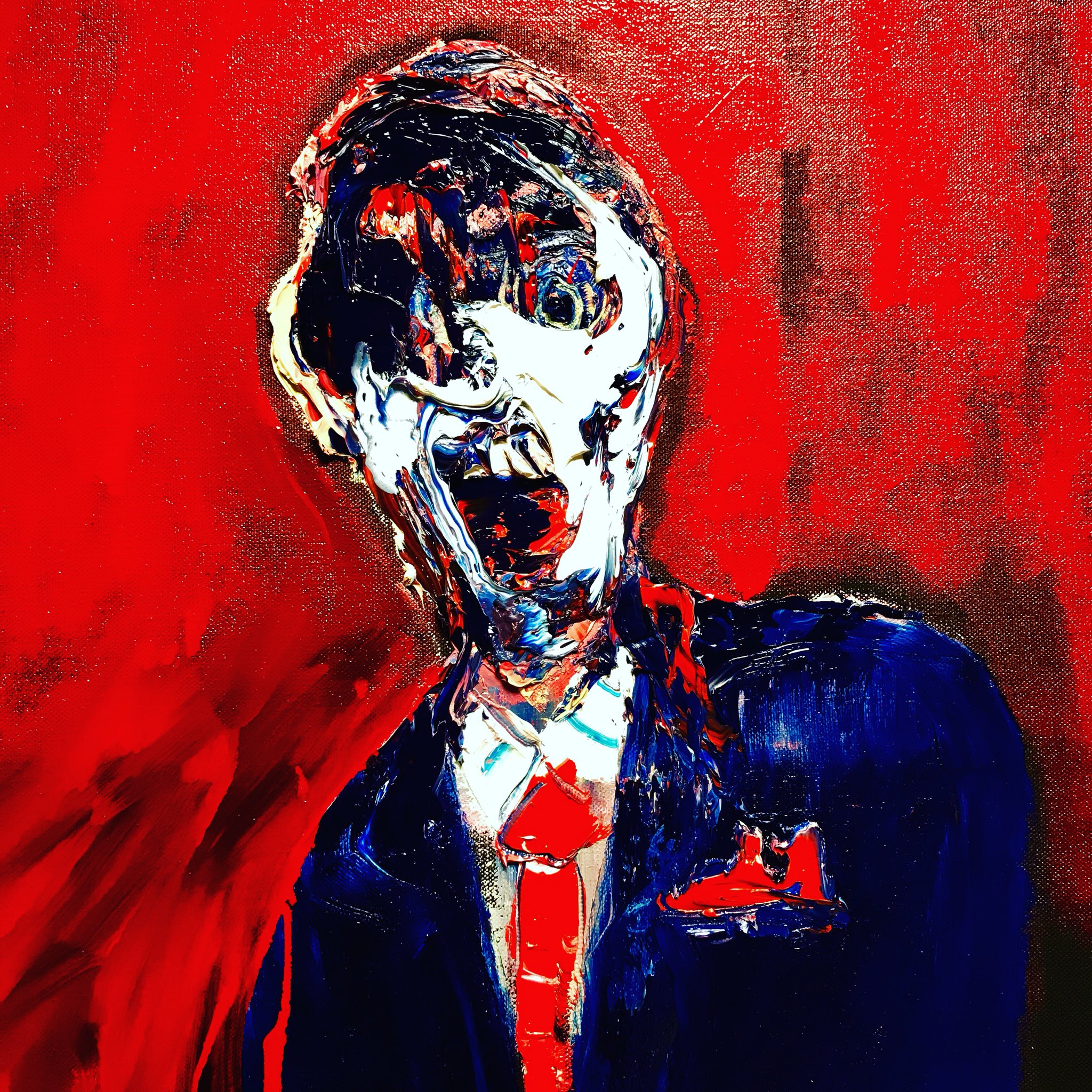 RT @LincolnTownley: The banker only wants one thing....👹 new pieces arriving @MaddoxGallery 2018 https://t.co/Yz6ZTmZRy1