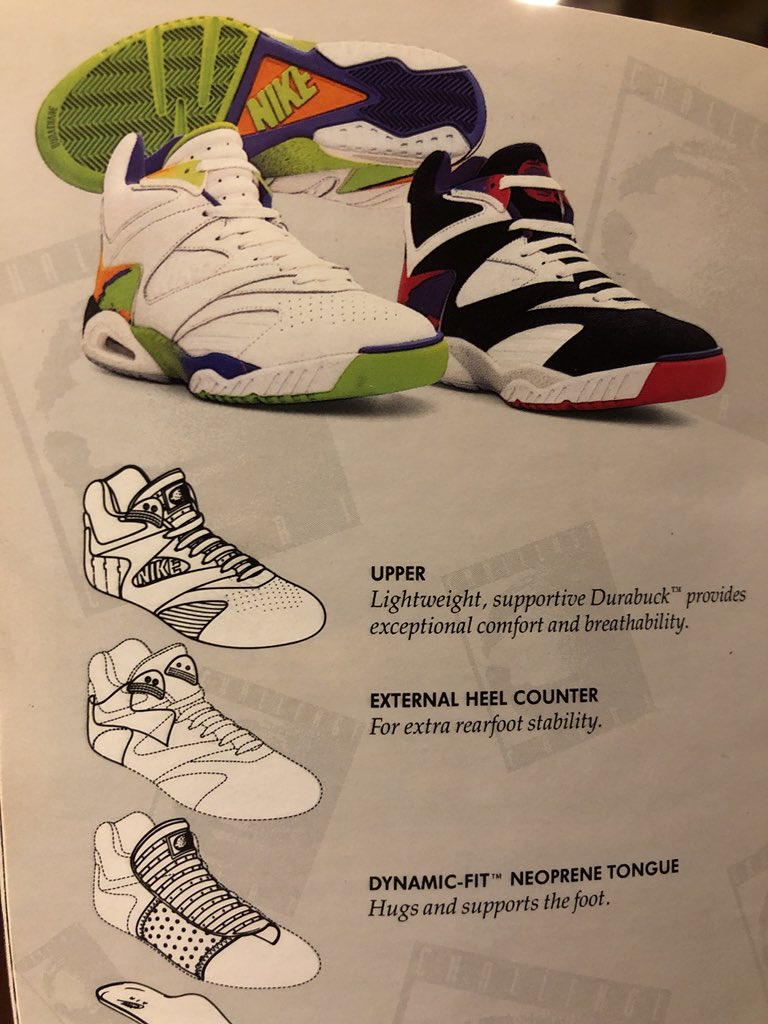 @Nikecourt @rogerfederer @Nikecourt I would like to introduce you to the Air Tech Challenge IV white-kiwi-persian violet-bright mandarin. A shoe @JimmyConnors wore. How about we get a retro of that one? @AndreAgassi wore the colorway next to it. https://t.co/DB9xLnw8lt