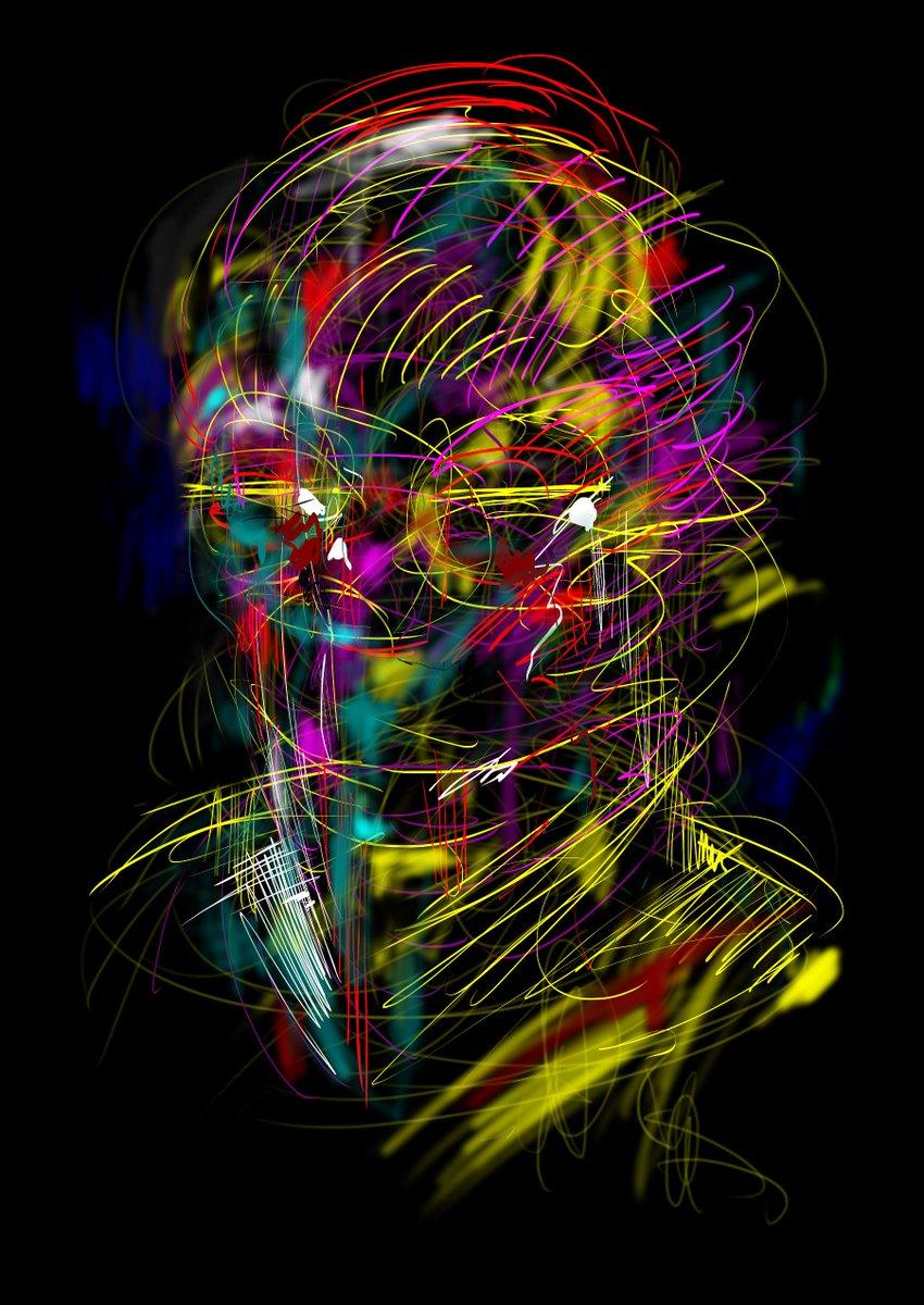 fingerwarming in the night- face  #gems #fingerwarming #drawing #sketch #art https://t.co/6T5uOxe3hZ