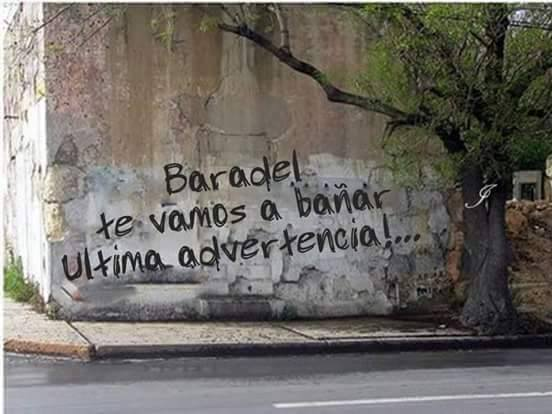 RT @rermultimedia: No puedo mas!!!!😁😁😁😁 #TodosSomosBaradel #BaradelAmenazado https://t.co/nHSGmxGoTw