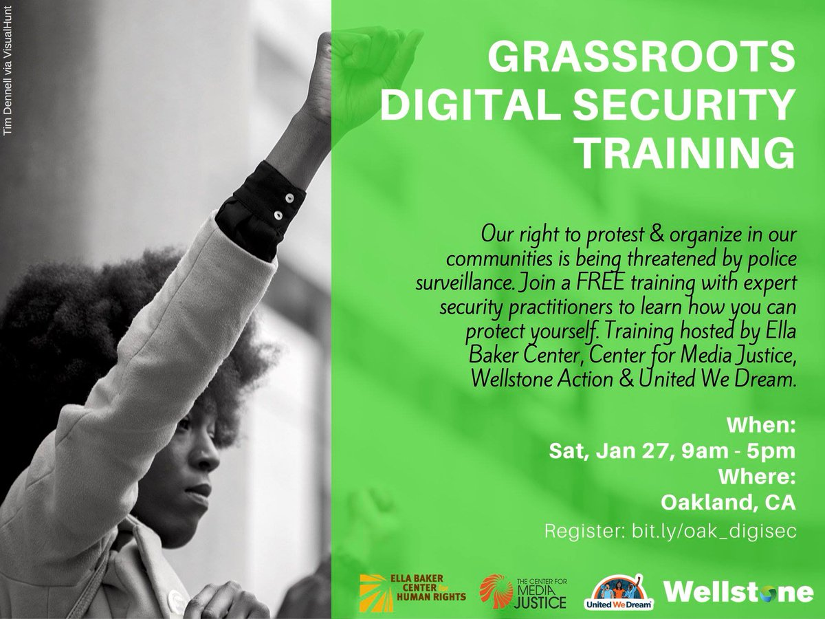 Grassroots Digital Security Training @ Oakland | California | United States