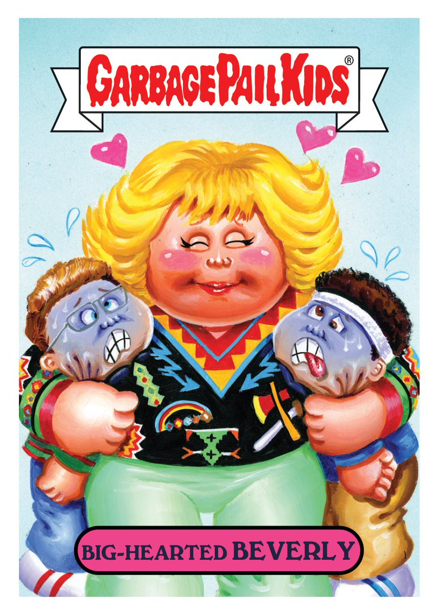 Topps Announces 2018 Series 2 Garbage Pail Kids]