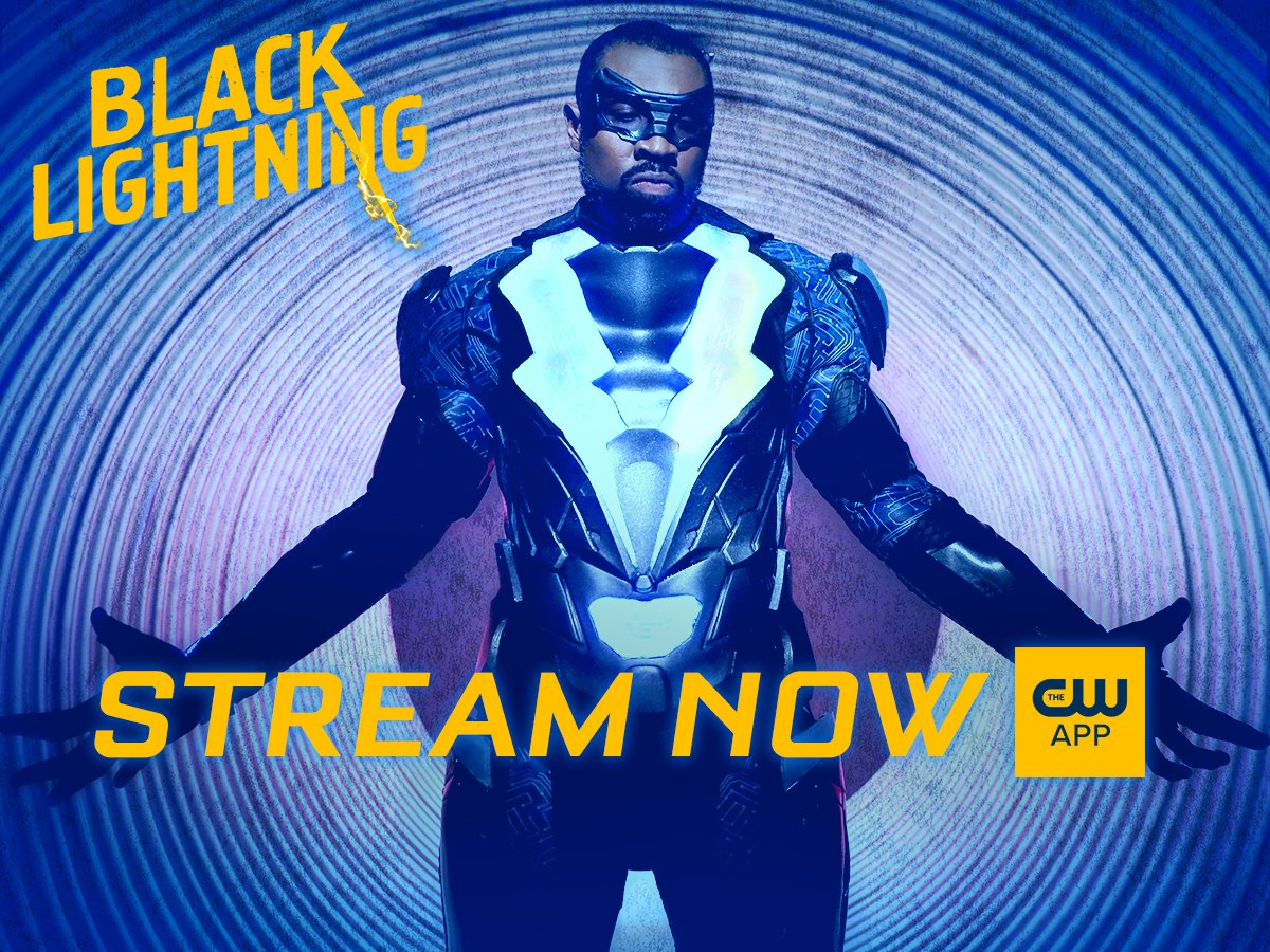 """Black lightning on twitter: """"download the cw app for free and."""