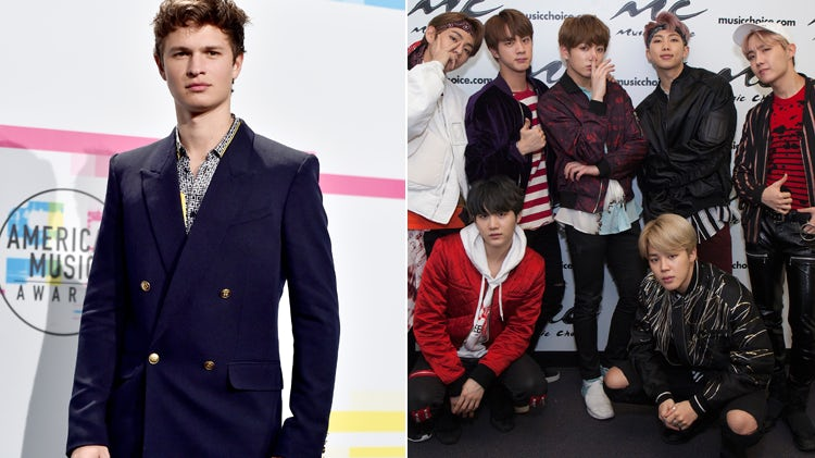 .@AnselElgort is just one of the many stars who have proven themselves to be huge fans of @BTS_twt >> https://t.co/dOmVsXqYYD