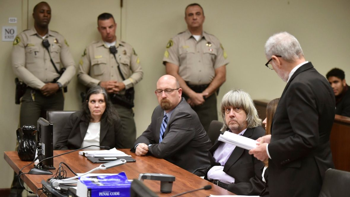 A California couple has pleaded not guilty to allegations they tortured a dozen of their children, kept them chained to beds for months and starved them so much that their growth was stunted and their muscles atrophied. https://t.co/guMm5PYZRK