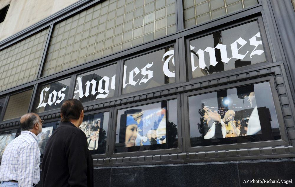 Journalists form union at Los Angeles Times and the publisher is out. https://t.co/ekaFBp2Xev  Ross Levinsohn was placed on an unpaid leave of absence amid allegations of past improper behavior.