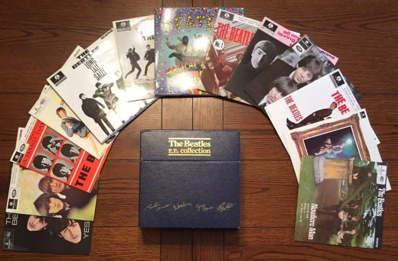 RT @FabFourFanAttic: Ep Collection 45 Rpm (bep14) 1981 Original Parlophone Labels Nm-  https://t.co/zpsdpVHe27 https://t.co/mOMbHwLRRn