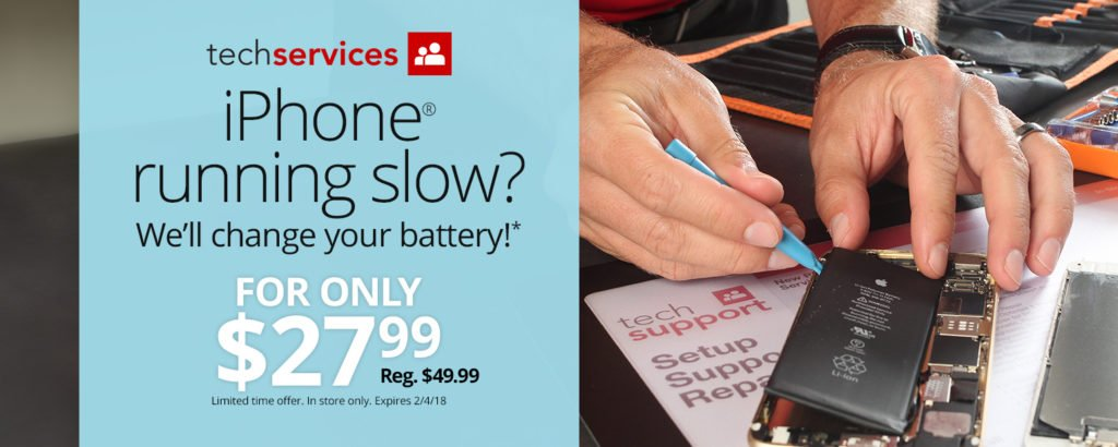Office Depot and OfficeMax Offers $27.99 iPhone Battery Replacement Until Feb. 4 https://t.co/ABLkBBE6KH