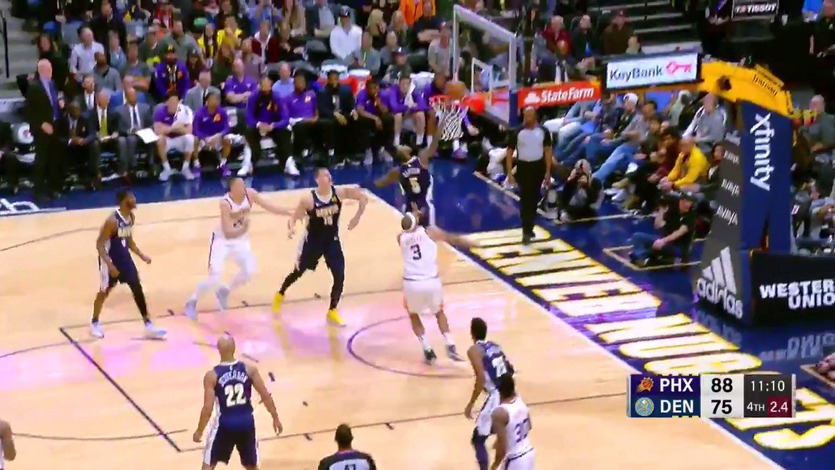 RT @NBA: Will Barton skies for the big swat off the glass!  #MileHighBasketball https://t.co/R9a9OGsWlf