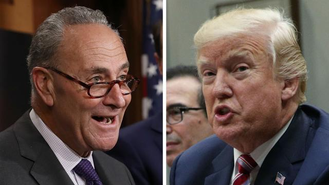 Dems: Trump walked away from deal with Schumer to avoid government shutdown https://t.co/BNDrefSAnA