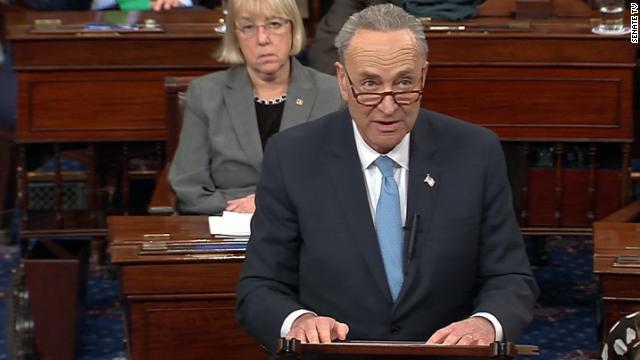 "'This will be called the Trump Shutdown,"" says Senate Democratic leader Chuck Schumer, adding that ""blame should crash entirely"" on Trump's shoulders. https://t.co/ZQL1qdcV3G"