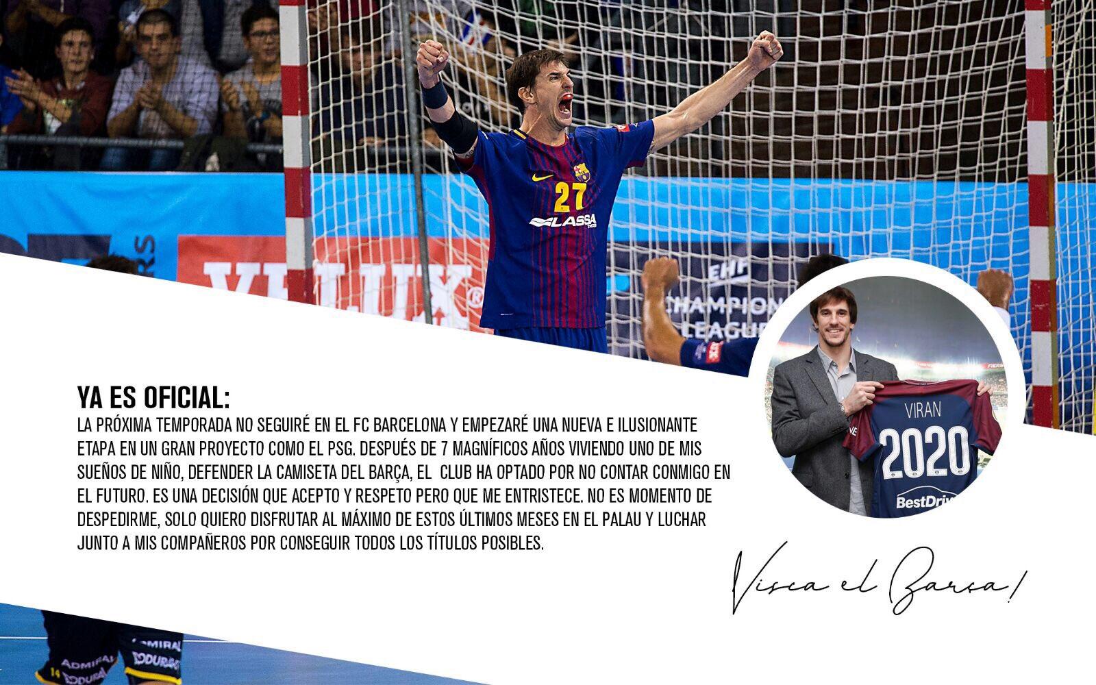 Viran Morros despedida Barcelona Lassa