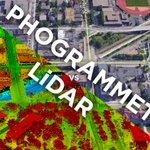 Image for the Tweet beginning: Drone LiDAR or Photogrammetry? Everything