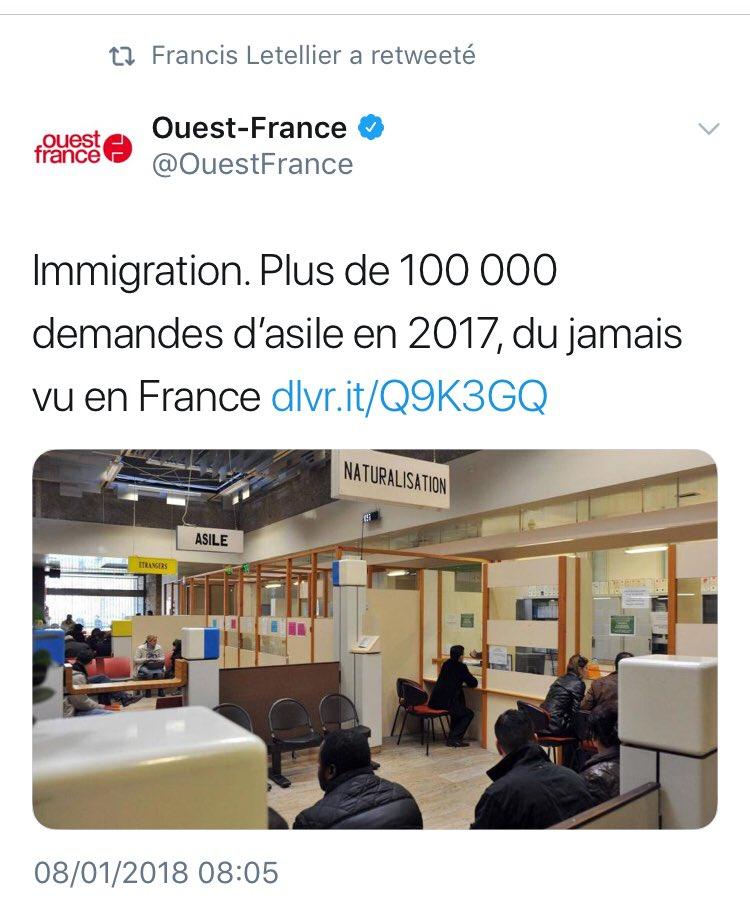 La politique migratoire désastreuse de Hollande et de son ministre devenu Président...Macron, est un appel d'air incessant à l'immigration illégale. La France n'intègre pas et ne renvoie pas résultat :  des bidonvilles, des coûts d'hôtel faramineux, l'AME. les Français paient...