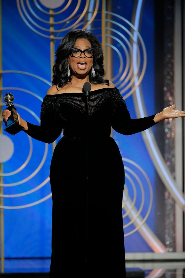 OPRAH FOR PRESIDENT!? Here are my six take aways from the #GoldenGlobes overnight... https://t.co/VjZNWu7lBK