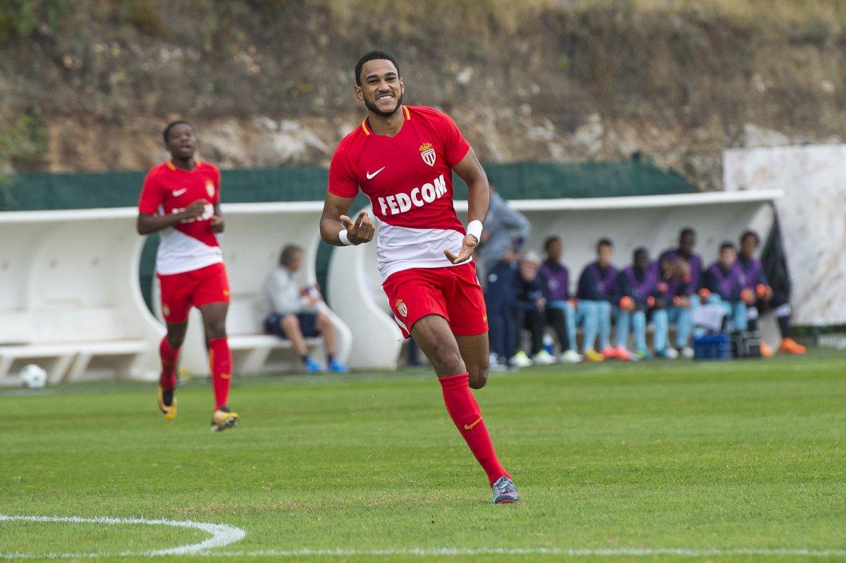 Maillot Domicile AS Monaco Jordi MBOULA