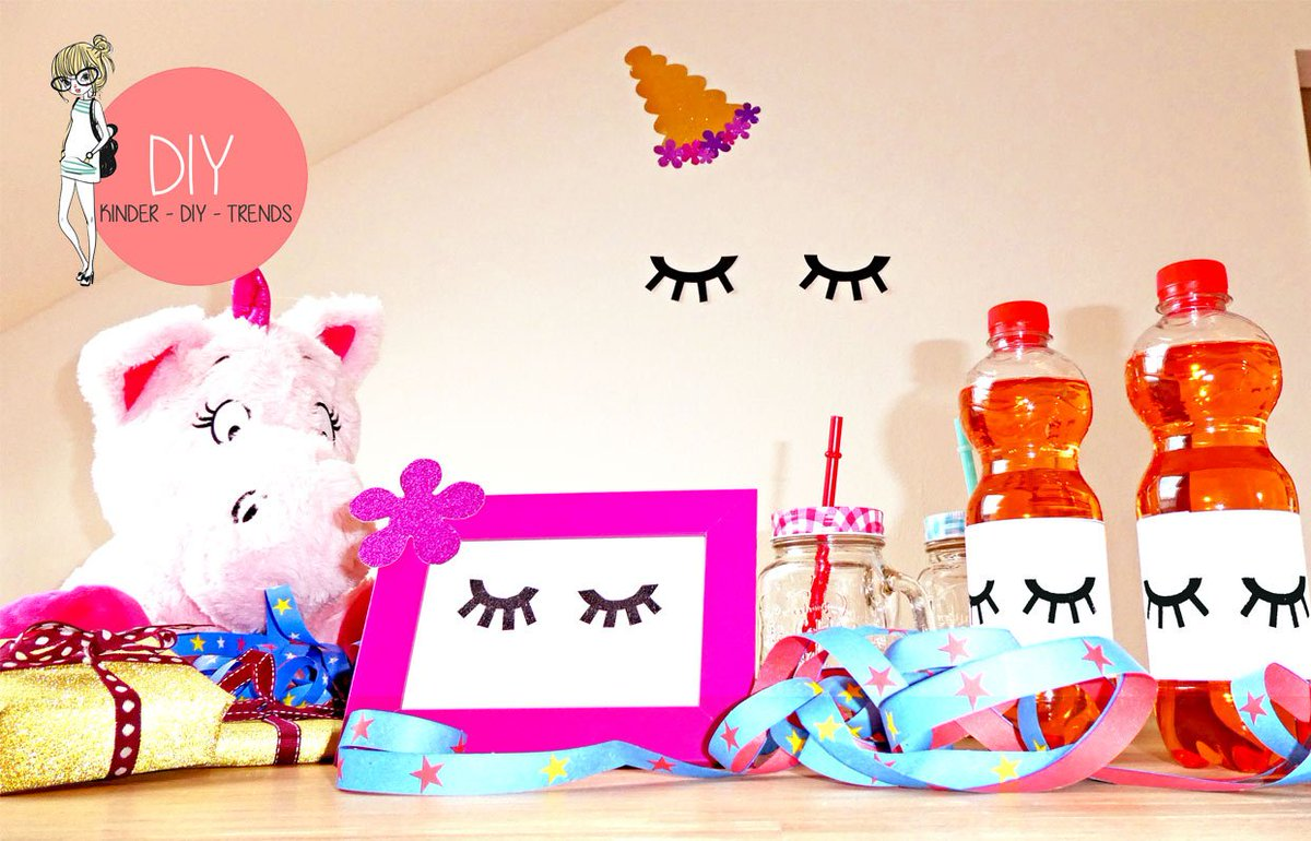 Kinder Diy Trends On Twitter Free Template For The Unicorn