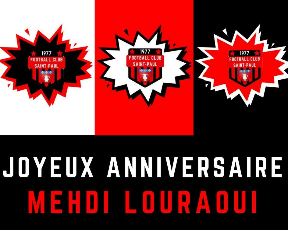 Fc Saint Paul On Twitter Le Fcsaintpaul Souhaite Un