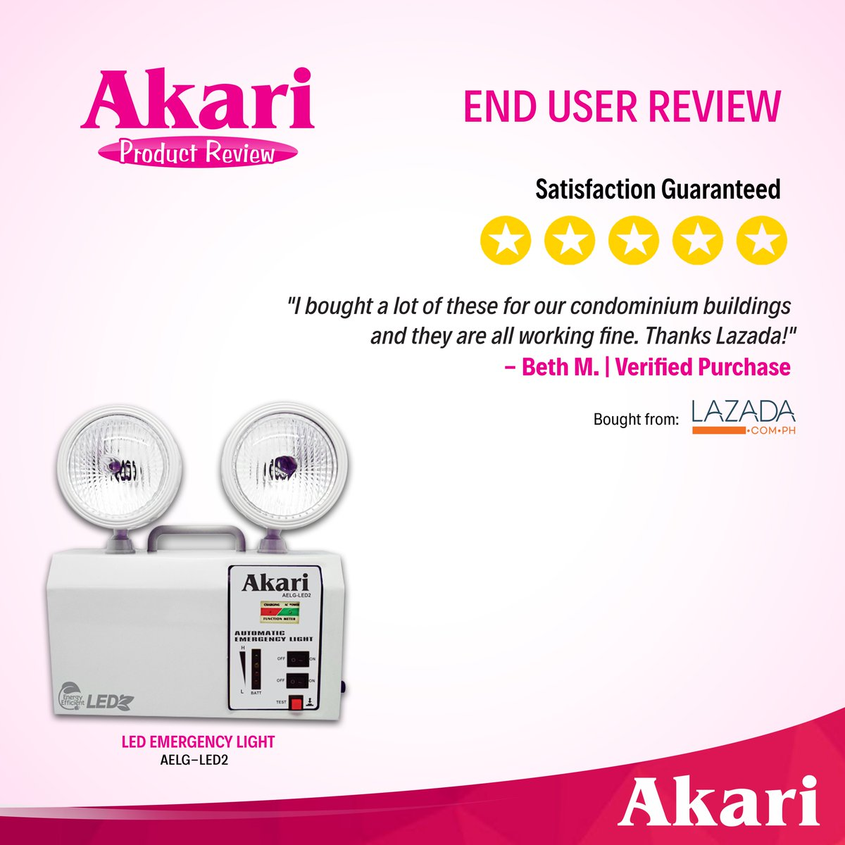 Akari Lighting On Twitter Looking For Reliable Emergency Lights Automatic Led Light Chooseakari Guaranteed High Quality As Vouched By This Satisfied User