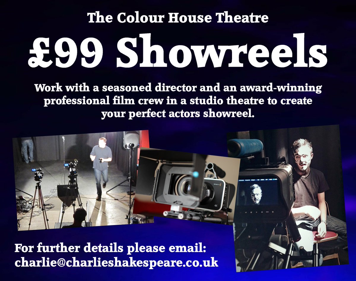 Calling All Actors In Need Of A Showreel We Have SPECIAL OFFER On Showreels For Just 99 Further Information Googl 6B7fJU Please RT And