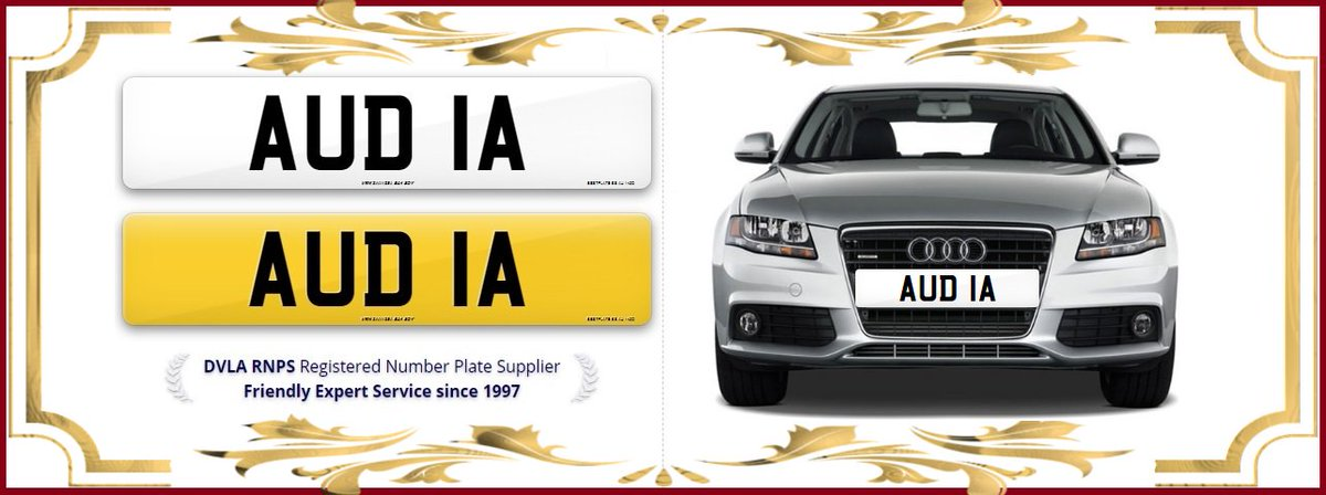 PlatesLess On Twitter The Perfect Number Plate For Audi A - Audi all series list