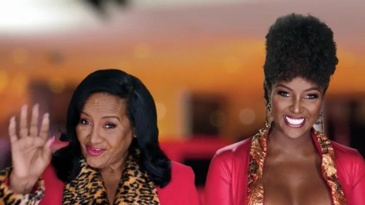 "Robyn Hood 🇵🇸 on Twitter: ""Amara La Negra and her mom #LHHMIA… """