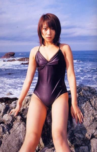 金田美香さんの水着