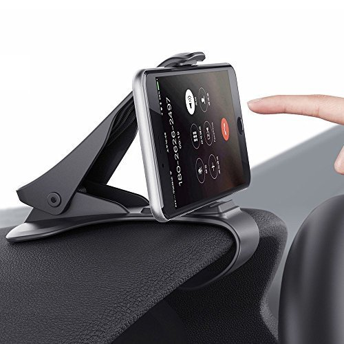 Dashboard Cell Phone Holder, HUD Car Mount for iPhone 7, 7 Plus, 6, 6S, 6...