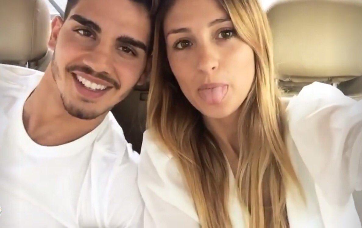 André Silva with beautiful, Girlfriend Sara Rodrigues