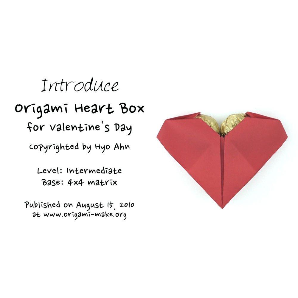 Origami Secret Heart Folding Instructions | 1000x1000