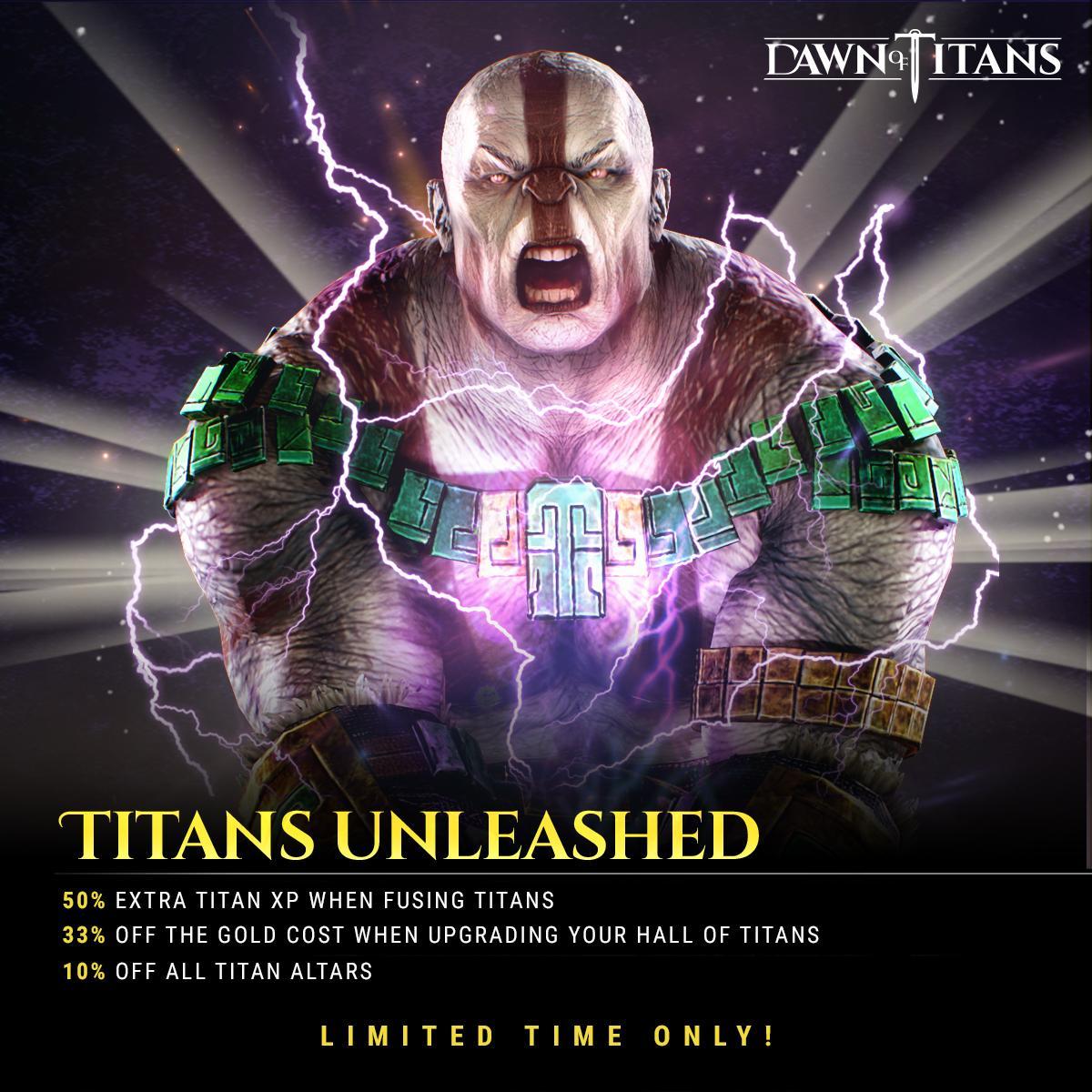 dawn of titans strongest titan