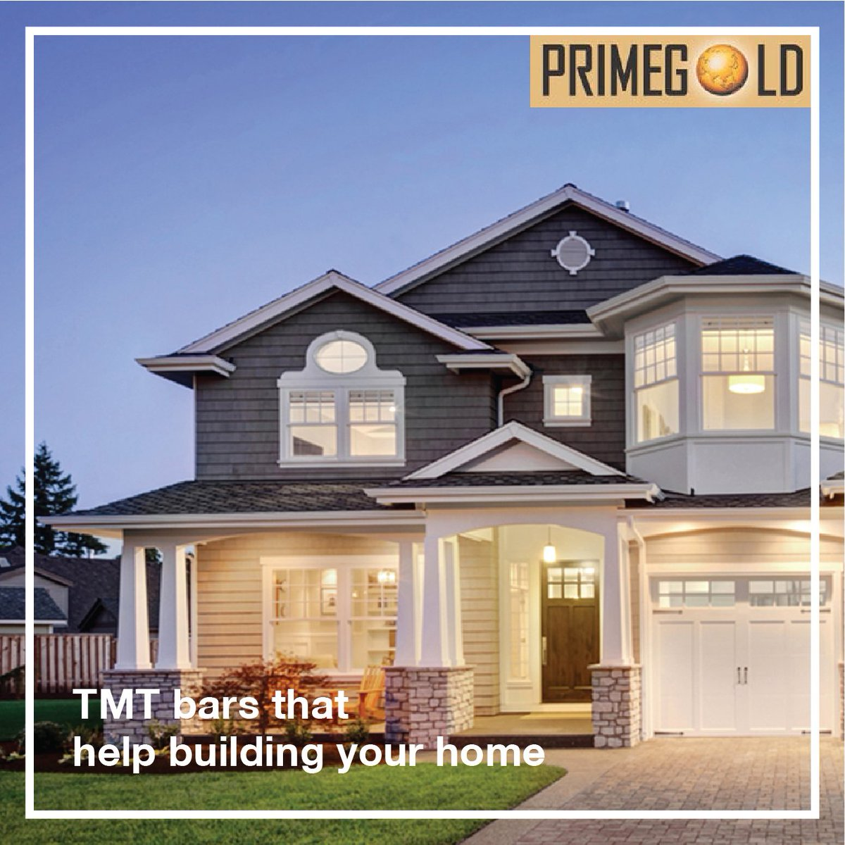 Let Primegold Tmt Bars Build Your Dream House Strong And Distinct Know More At Https Goo Gl 4tpg4r Construction Cement Buildingconstruction Sspipes