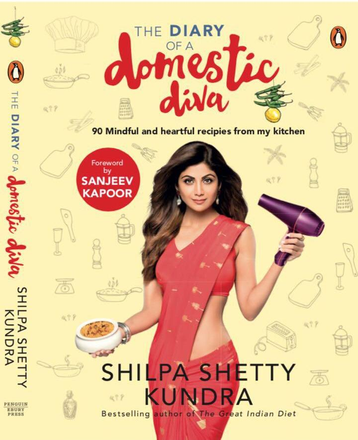 Woohoo! Congratulations @TheShilpaShetty on #TheDiaryofaDomesticDiva! Can't wait to read and know your secrets! 😉