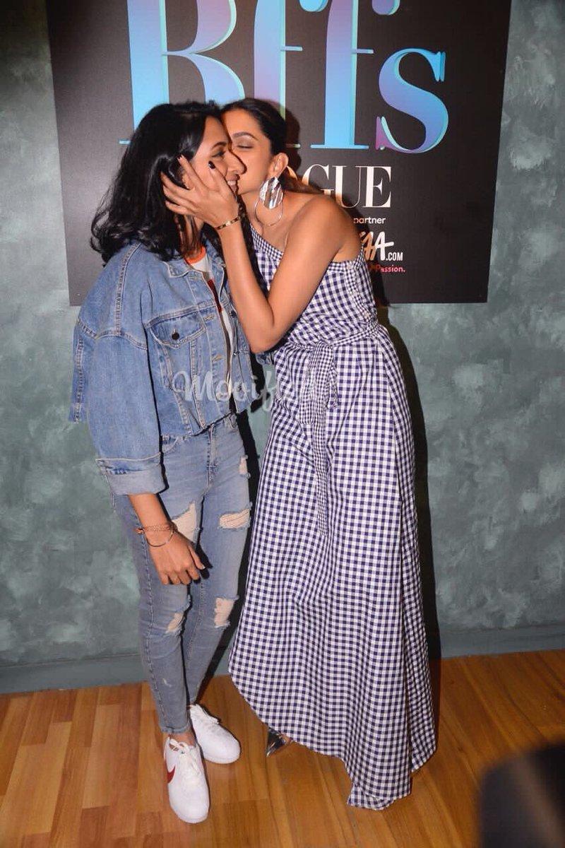 Deepika Padukone With Her Sister Anisha Padukone