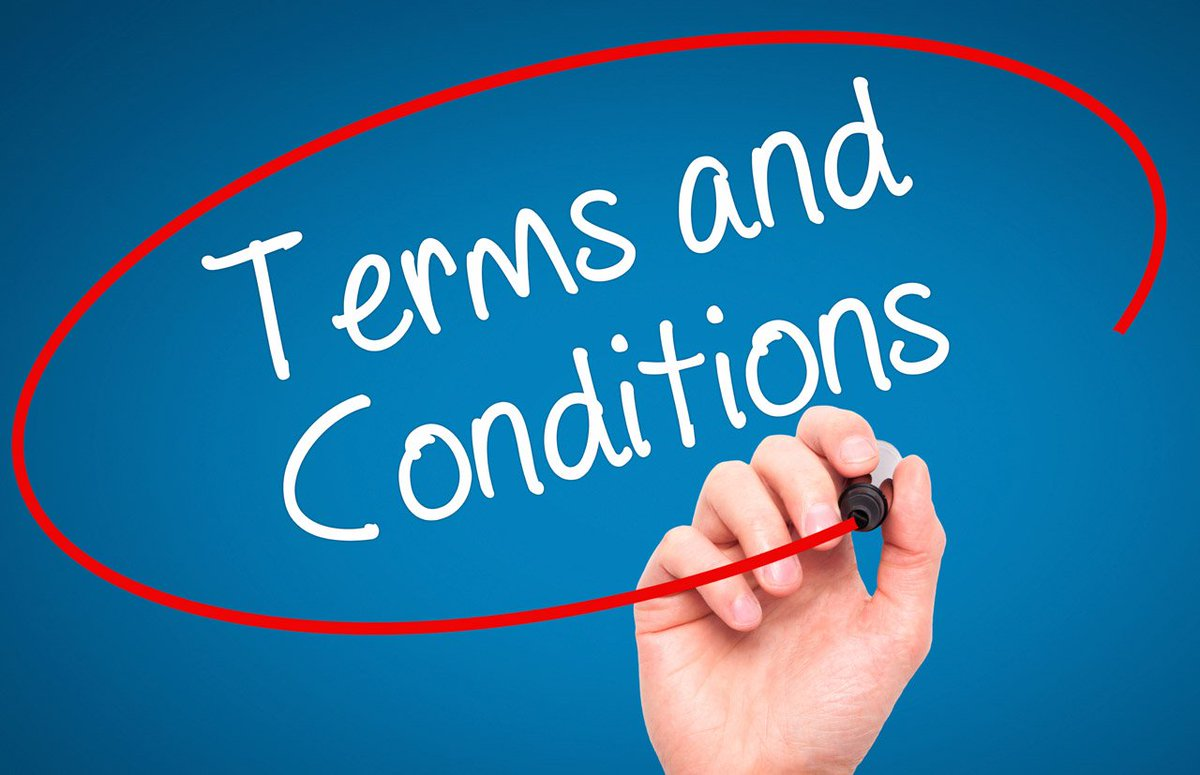 dating terms and conditions