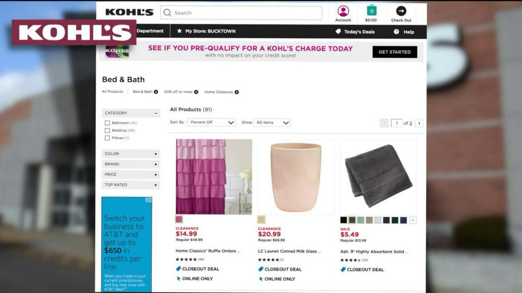 ac3c47142fef margies money saver up to 70 off bed bath items at kohls