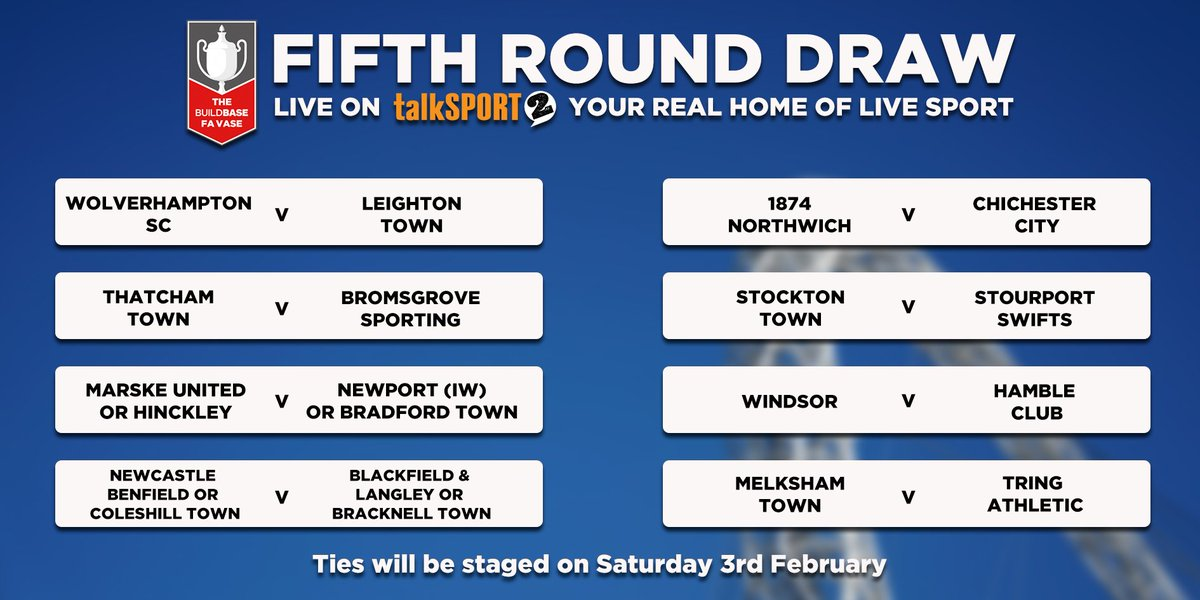 Talksport 2 On Twitter Here Is How The Fa Vase Draw Finished Here