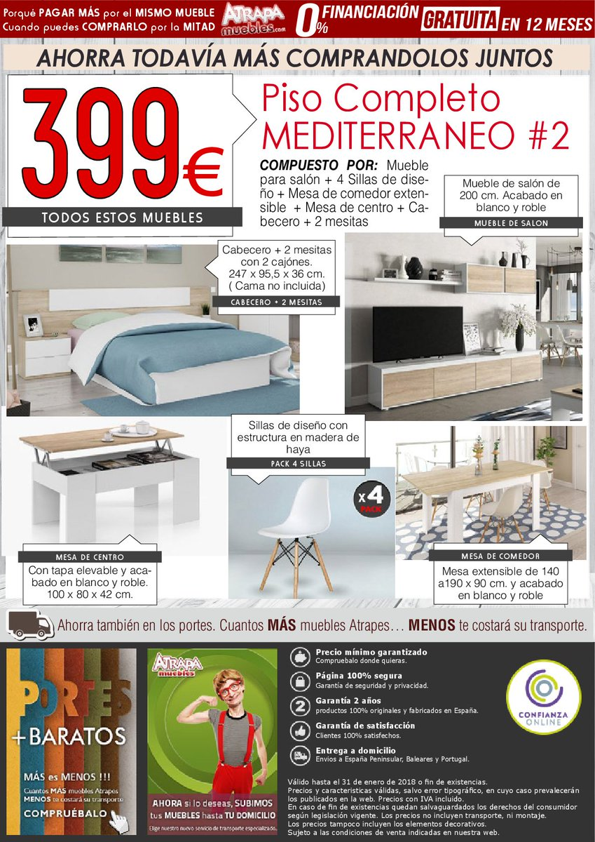Comprar Muebles Piso Completo Top Foto De Luespai Tortosa  # Muebles Piso Completo Conforama