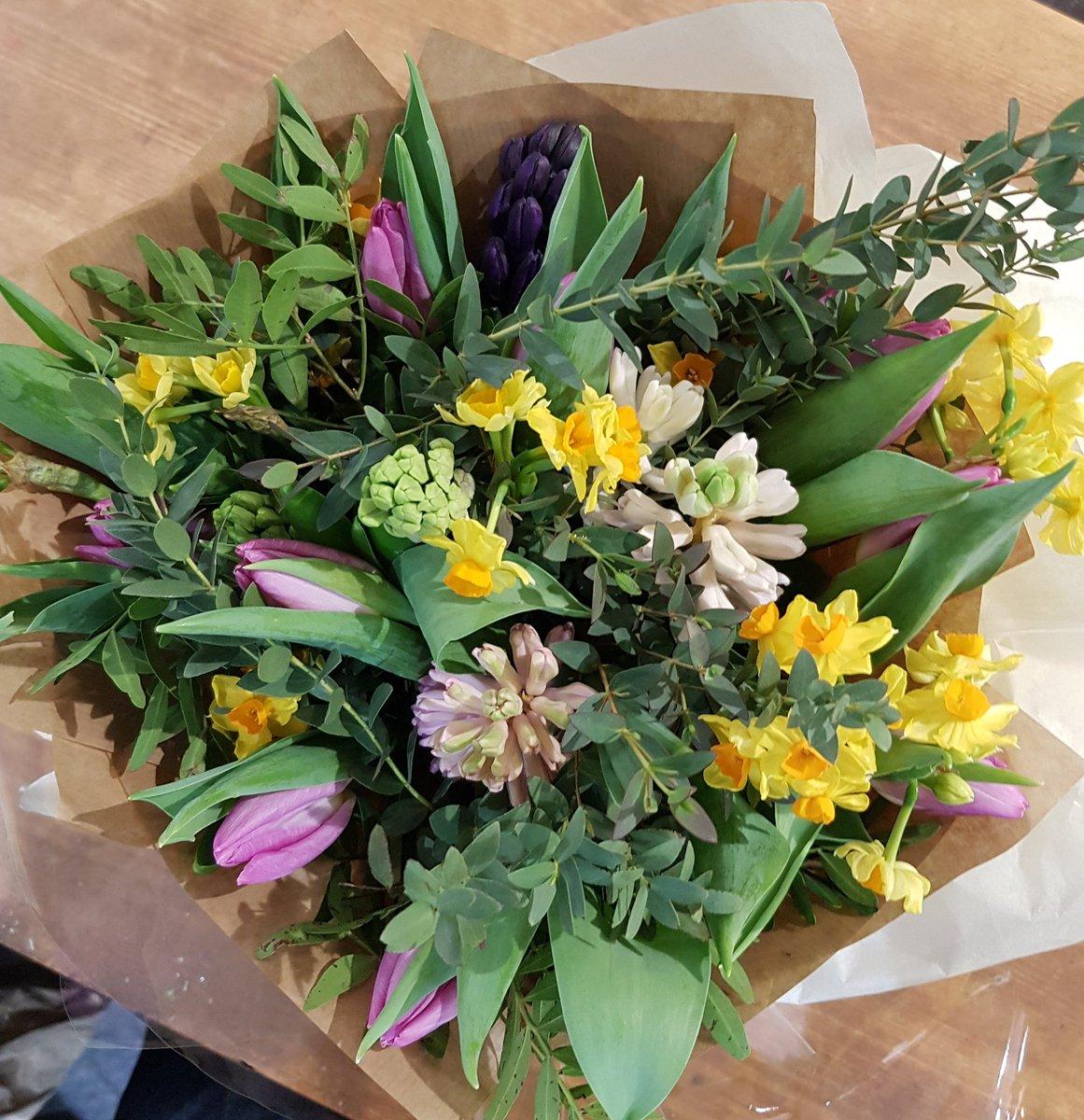 Ian Fearnley On Twitter Spring Bouquet Welcome Back My Lovelies
