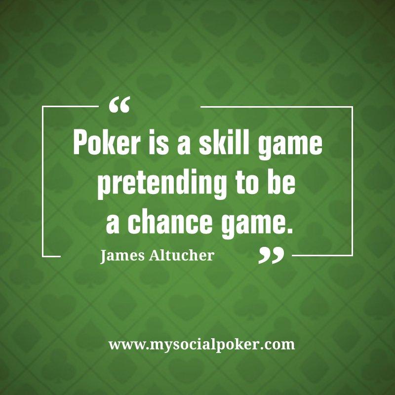 Poker Quote of the day. Tell us your favorite poker quote. #poker #pokerquotes #pokerlife #pokernight #pokergrind #cashgame #texasholdem #socialpokernyc<br>http://pic.twitter.com/oOMqCxMK6v