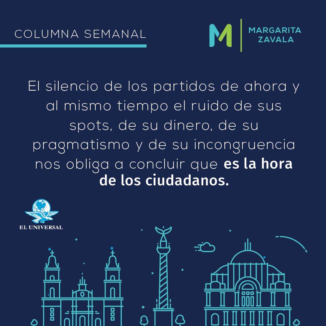 'México 2018: la hora de los ciudadanos'...