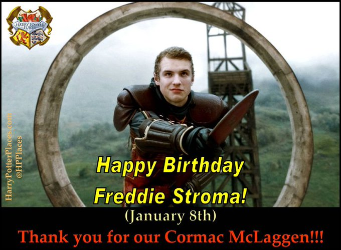 Happy Birthday to Freddie Stroma